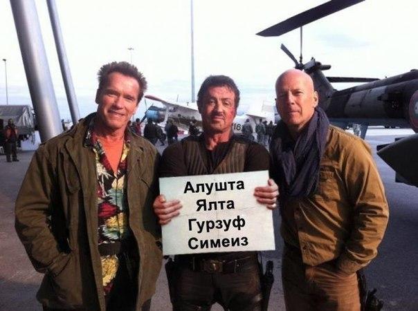 Поездки Крым - Украина - Крым